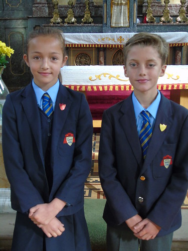 Head Prefects - Filip and Sofia L
