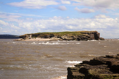 Middle Eye High Tide (David Chennell - DavidC.Photography) Tags: island tidal hightide merseyside riverdee hilbreisland deeestuary