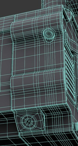 Rear Detail Wireframe