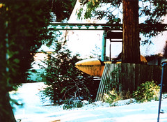 Porst SP Santa's Village 2 () Tags: california camera winter lake snow mountains slr history classic film japan forest 35mm vintage fire gold san hiking retro mining southern socal german rush lucky hanging 1970s arrowhead baldwin bigbear miners wildfire bernadino porst