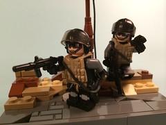 Desert Special Ops (Dyroth) Tags: black desert lego special minifig custom ops minifigure blackops minifigures brickarms legomilitary minifigcat legoblackops legedesert