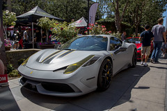 Ferrari 458 Speciale at Cars and Croissants (twinsfan7777) Tags: california canon sanjose ferrari supercar carsandcroissants ferrari458speciale