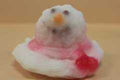Melted Snowman $4.00 (Clelian Heights) Tags: christmas winter snowman soaps unscented decorativesoaps cleliansoaps cleliancenter