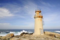 Faro de Muxía / Muxía Lighthouse (A.González) Tags: sea españa lighthouse seascape landscape faro mar spain nikon paisaje galicia filter cape polarized filtro muxia polarizador muxía nikonistas