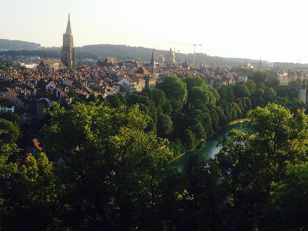 Bern do Rosengarten verão