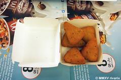 Swiss style cheese wedges - McDonald's Doha (rivarix) Tags: fastfood frenchfries dohaqatar citycentermall fastfoodchainrestaurant mcdonaldsfromaroundtheworld wissstylecheesewedges mcdonaldsdoha
