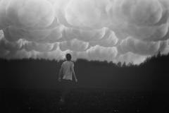 184/365 under the clouds (Dominik Kym) Tags: bw white black project days 365 prtrait