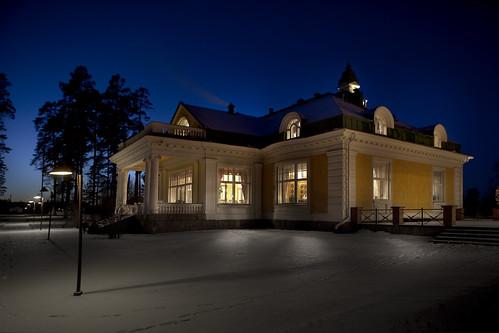 Hotelli ja Ravintola Hirvihaaran Kartanon päätalo