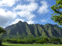 Koolau Range (jen-the-librarian) Tags: hawaii oahu kualoaregionalpark kneohebay