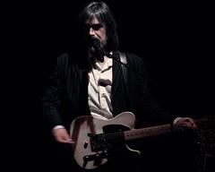 Jackson Browne 2015 - Larry Campbell (MalaneyStuff) Tags: november wisconsin concert riverside guitar sony milwaukee pointandshoot jacksonbrowne jacksonbrownenov2015