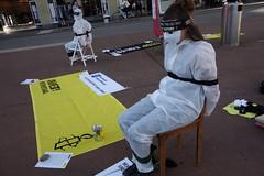 Strassenaktion gegen Folter August 2014