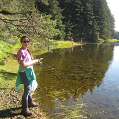 Fishing (USFWSAlaska) Tags: alaska youth fishing learn kodiak usfws sciencecamp salmoncamp