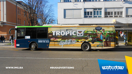 Info Media Group - Tropic, BUS Outdoor Advertising, Banj Luka 11-2015 (1)