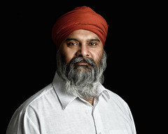 Singh (Jay Hunjan) Tags: portrait singh indian turban lastolite studio strobist strobe bowens flash nikon blackbackground beard
