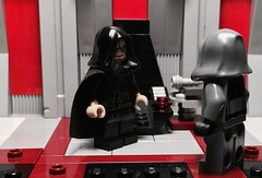 The Way Of The Sith (Supremedalekdunn) Tags: lego star wars darth vader dark lord sith heir empire sidious emperor palpatine story group side light jedi saber mask anakin skywalker blackandwhite destroyer galactic soontir fel indoor snyar naboo investigation truth or deception