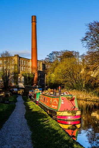 Canal towpath, Bollington