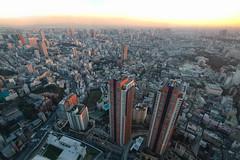 Gigantic City (fredMin) Tags: giant city tokyo japan buildings travel fuji xt1 cityscape