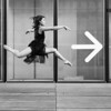 The right direction (Sabrou Yves Photograff) Tags: bnf paris blackandwhite dance jumping model sigma art