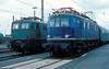118 048  Ingolstadt  12.08.80 (w. + h. brutzer) Tags: ingolstadt eisenbahn eisenbahnen train trains deutschland germany railway elok eloks lokomotive locomotive zug 118 e18 db webru analog nikon