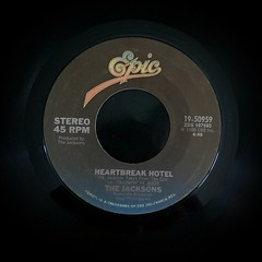 2016-12-16_02-39-07 (capleez) Tags: 45s vinylrecords heartbreakhotel thejacksons