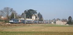 BB 67351 et voitures Corail Alsace (SylvainBouard) Tags: train sncf ter bb67300