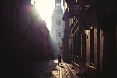 winter light (ewitsoe) Tags: poznan winter street city cathedral poland ewitsoe nikond80 35mm architecture sunny cold