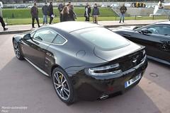 Aston Martin V8 Vantage S (Monde-Auto Passion Photos) Tags: auto automobile aston martin astonmartin v8 vantage coupé france rally paris evenement sportive supercar