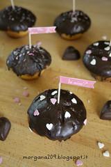 MuffinSanValentino_001w (Morgana209) Tags: love sanvalentino amore muffin cioccolato nutella yogurt facili veloci innamorati cuore tag flag handmade cucinareconamore heart 14febbraio fattoamano donospeciale