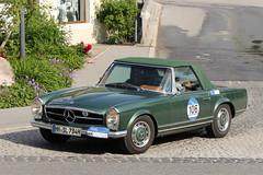 Mercedes-Benz 280 SL (1969) (Roger Wasley) Tags: mercedesbenz 280 sl 1969 mercedes benz arlberg classic car rally 2016 lech austrian alps austria europe