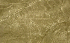 Goodbye Year of the Monkey and Happy Lunar New Year! (WS-0002) (Butterflies in Still Air) Tags: nazcalines monkey nazca lines unesco world heritage aerial peru desert southamerica