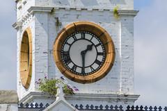 Half Past One (Preston Ashton) Tags: clock face pointer hand hands time tower darlington durham prestonashton england uk ne northeast summer sunshine sunny
