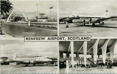 Renfrew Airport (Neil F King) Tags: scotland postcard airport renfrew glasgow bea viscount terminal