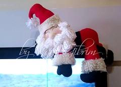 Enfeite para tv Papai Noel soneca (Feito a mão [by Rafa]) Tags: feltro fieltro felt rafagibrim fofo cute enfeite presente lembrança artesanato natal papainoel tv enfeiteparatv papai noel dormindo