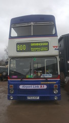 The front end! (because_stickers) Tags: west midlands travel wmt coventry 900 3053 mcw metrobus mk2a birmingham preserved bus