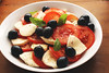 Mozzarella Salad (BivolAlina) Tags: mozzarella salad tomatoes basil oregano olives dinner
