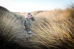 How do I get through... (Karl Gartland) Tags: grass flare sand sunset sun beach child seaside backlight x100t fuji dunes girl lilimae family wallasey newbrighton