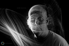 62/365 Fibre Optic ([inFocus]) Tags: canon 5d 5dmkiv 2470mmf28lii 2470mm portrait selfportrait selfie light lightpainting lightjunkie lights lightpaintingbrushes fibreoptic black cre longexposure lowlight strobist studio 365 3652017 project365 mono blackandwhite