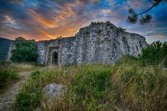 Ali Pasha's castle at Anthousa Parga (Dimitil) Tags: clouds momuments nature greece hellas architecture paysage nightshot parga anthousa agia epirus sunrise history castles