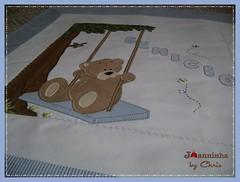 manta Benicio (Joanninha by Chris) Tags: handmade feitoamão bordado manta menino urso ursinho enxovalbebe enxovalmenino aplicaçãodetecidos artesanato bear baby bebê patchwork patch azul