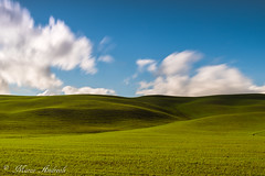 val d'orcia (marcodesmo796) Tags: valdorcia colline landscape sky clouds verde toscana podere