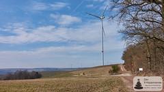 Windrad: Hiwweltour Tiefenthaler Höhe