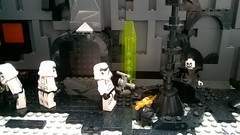 Searching The Ancient Ruins (AJV777) Tags: storm trooper up set star starwars ruins lego legos stormtrooper wars minifig minifigs sith rebels minifigure moc inquisitor