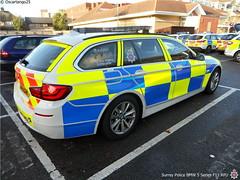 Surrey Police BMW 5 Series F11 RPU (Oscartango25) Tags: 5 police surrey 101 bmw series roads f11 staines unit 999 rpu policing