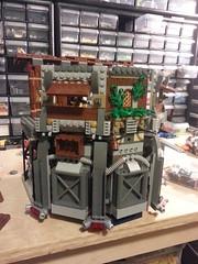 Shiptember WIP (skyler14807) Tags: lego space pirates spaceship shiptember