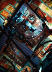 I Robot (beelzebub2011) Tags: sculpture usa abstract artwork multipleexposure bellingham washingtonstate