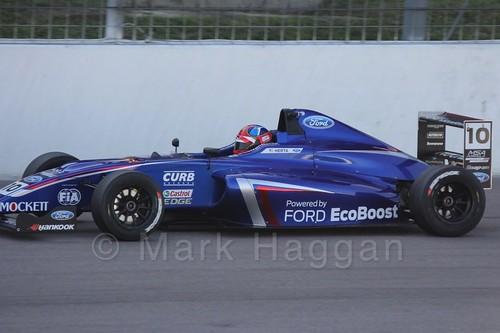 Colton Herta in MSA Formula at Rockingham, September 2015