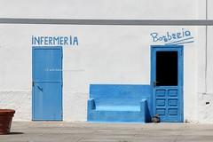 Parco nazionale dell'Asinara [+1 inside] (CarloAlessioCozzolino) Tags: sardegna sardinia doors porte asinara carcere barberia portotorres infermeria parconazionaledellasinara caladoliva diramazionecentrale