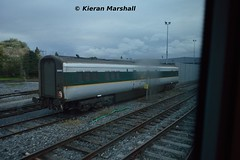 9606 at Inchicore, 14/9/15 (hurricanemk1c) Tags: dublin irish train br rail railway trains enterprise railways irishrail inchicore mark3 2015 brel iarnród 7608 9606 éireann egv iarnródéireann mk3van