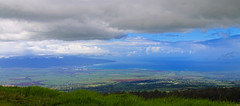 eastward ocean view from mountain (robertskirk1) Tags: ocean park mountain nature hawaii view scene maui national haleakala hi