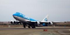 KLM cargo (Carlos Ramirez Alva) Tags: peru airport lima aviation cargo klm takeoff aeropuerto b747 aviacin despegue carguero jorgechvez